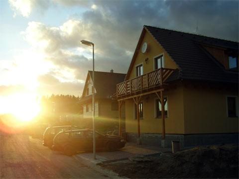 Apartmány Palisády Donovaly západ slnka