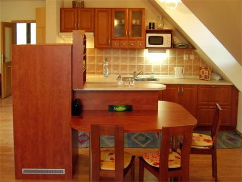 Horný apartmán kuchyňa