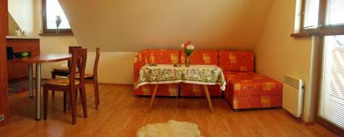 Horný apartmán pohovka