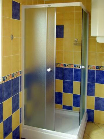 Horný apartmán sprcha