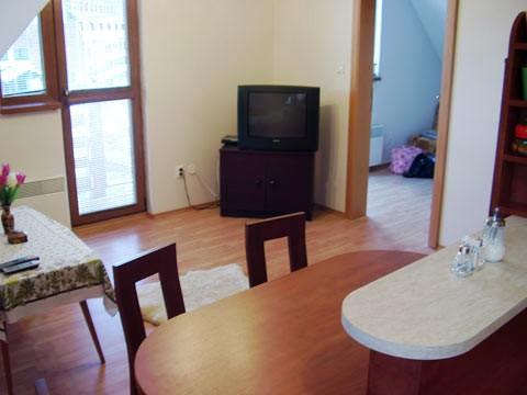 Horný apartmán TV