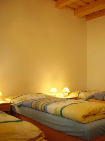 Spodný apartmán detail izby
