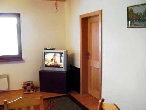 Spodný apartmán TV